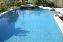 A big pool area